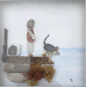Doggie Paddle (unframed view)