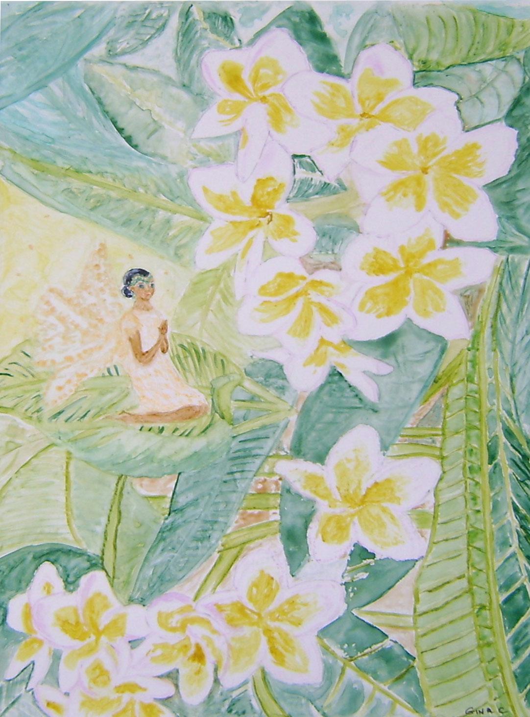 Gina Vhapman Frangipani Fairy