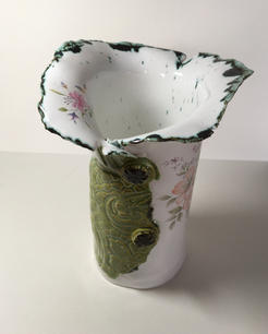 'Torn' Vase (top view)