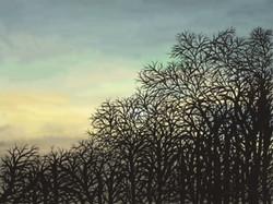 Winter Sunrise, Gill Olney