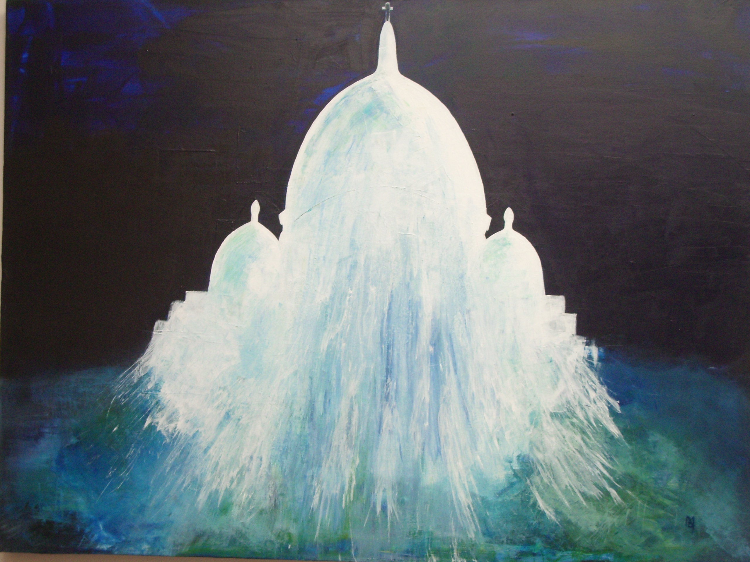 Sacre Coeur in Acrylic 2011.JPG