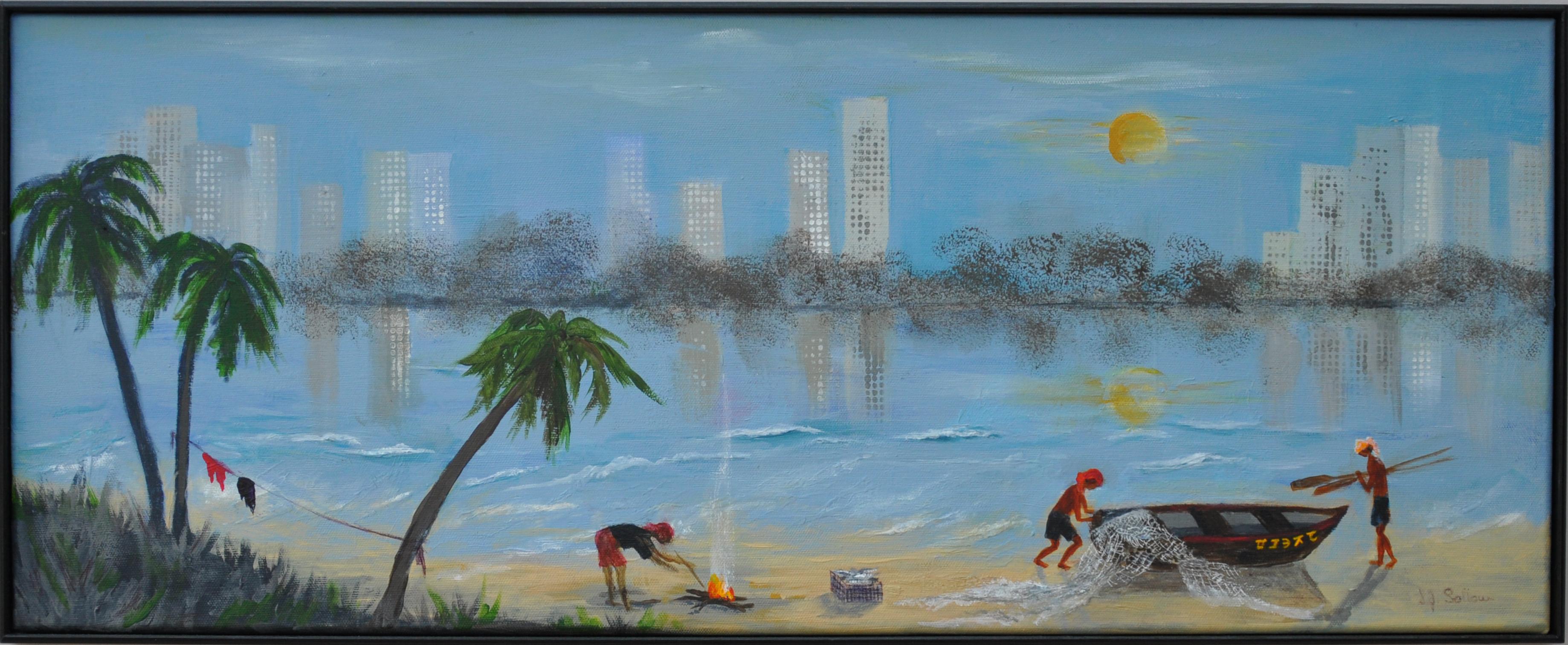 Chennai Fishermen, Sarah Sollom