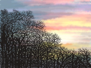 Winter Sunset, Gill Olney.jpeg