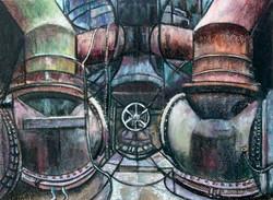 Jim Dowton Industrial Derelict
