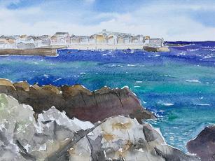 The Sea at St. Ives
