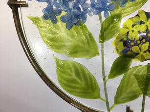 Blue Hydrangea (detail)