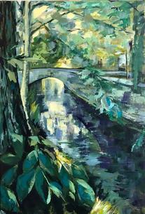 Light Through the Bridge