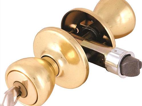 Brass Entry Lockset