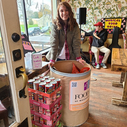 Catelyn Picco, 2020 Musical Food Drive at Mama D's in Wales