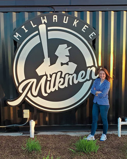Catelyn Picco, 2021 Milwaukee Milkmen National Anthem