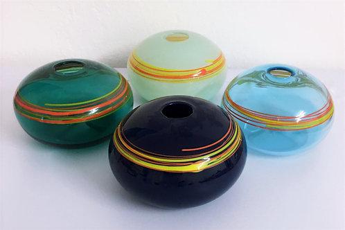 Braided Pill Shaped Vase