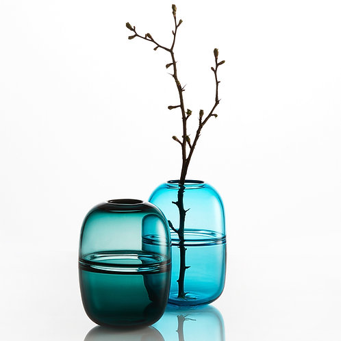 Double Bubble Vases /  Dobbelt Boble Vaser