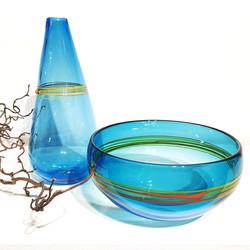 Braided Vase & Bowl