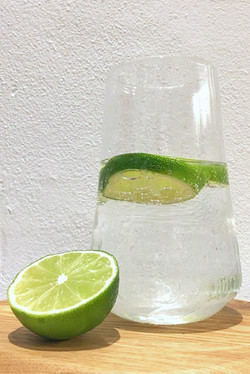 Bottoms Up Glass Tall