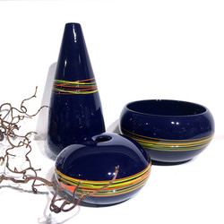 Braided Series Pieces Navy