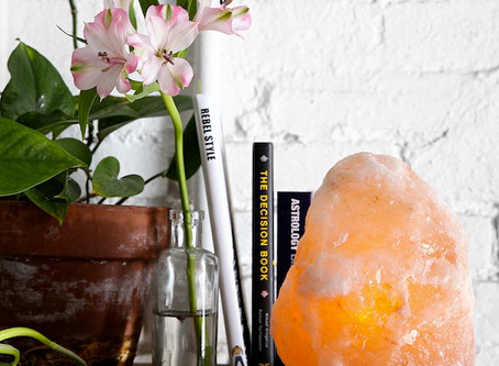 Crystals, colours and more! Easy steps for bringing positivity into your home and lifestyle
