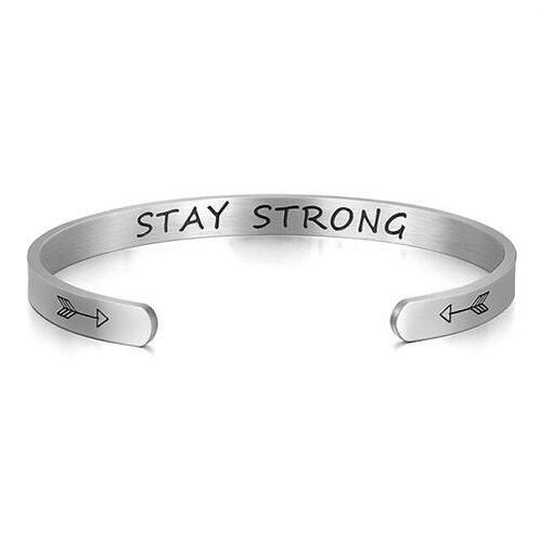 Inspirational Bracelet - Stay Strong