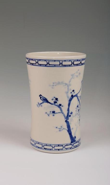 Bird Vase Back View (SOLD)