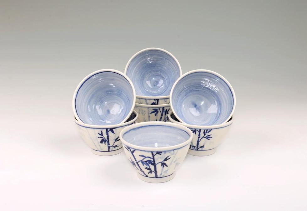 Bamboo Bowls Angle 2 (SOLD)