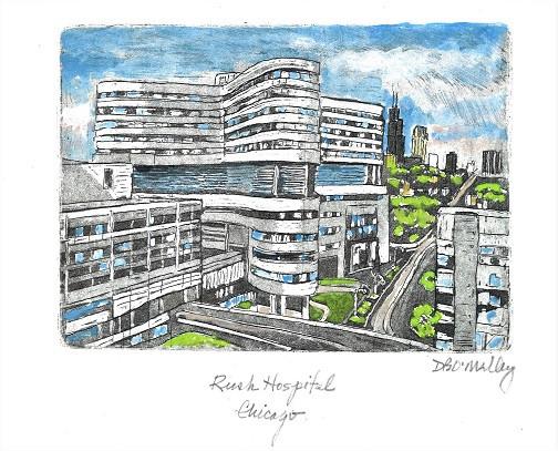 Rush Hospital  Chicago- Dennis O'Malley