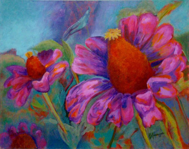 Adrienne Aaronson - Bloomin' Blossoms