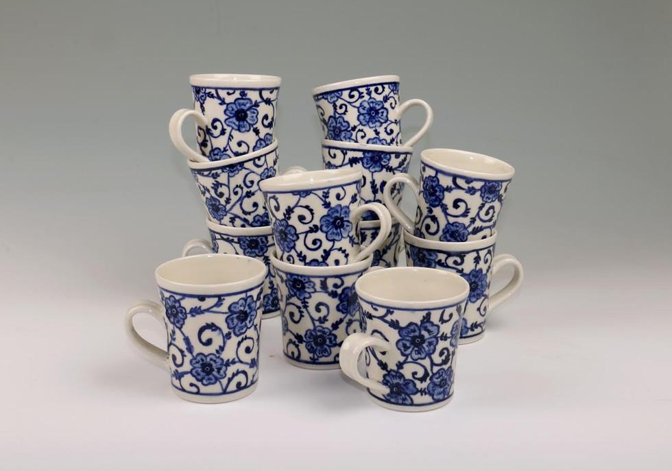 Floral Mugs Short