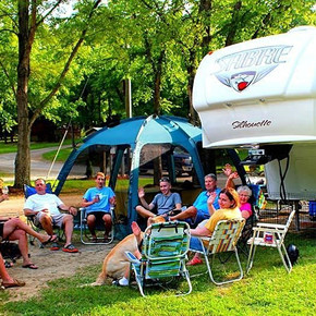 Camping at the Fairgrounds