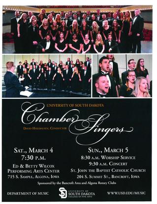University of South Dakota Chamber Singers