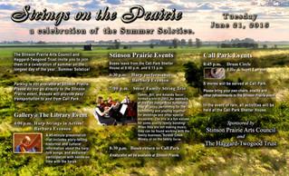 Summer Solstice: Strings on the Prairie