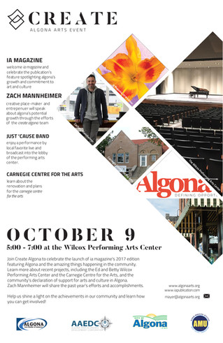 Create Algona Arts Event