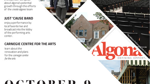 Create Algona Arts Event