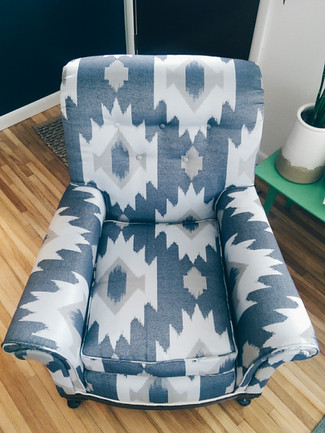 New life for a Curb-side Club Chair