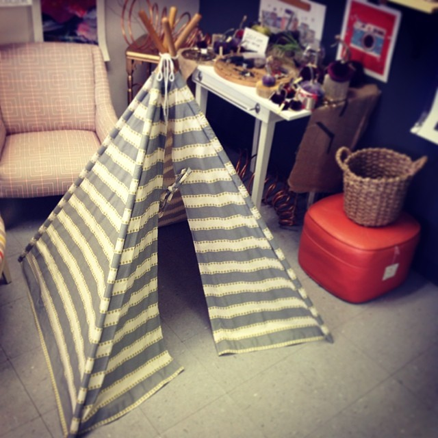 Miss Stellie's tent I made! Love you little stinker_) _mrssmid
