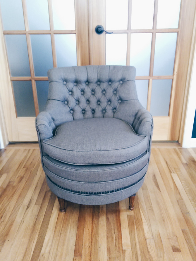 Tricia's Tufted & Tailored Chair