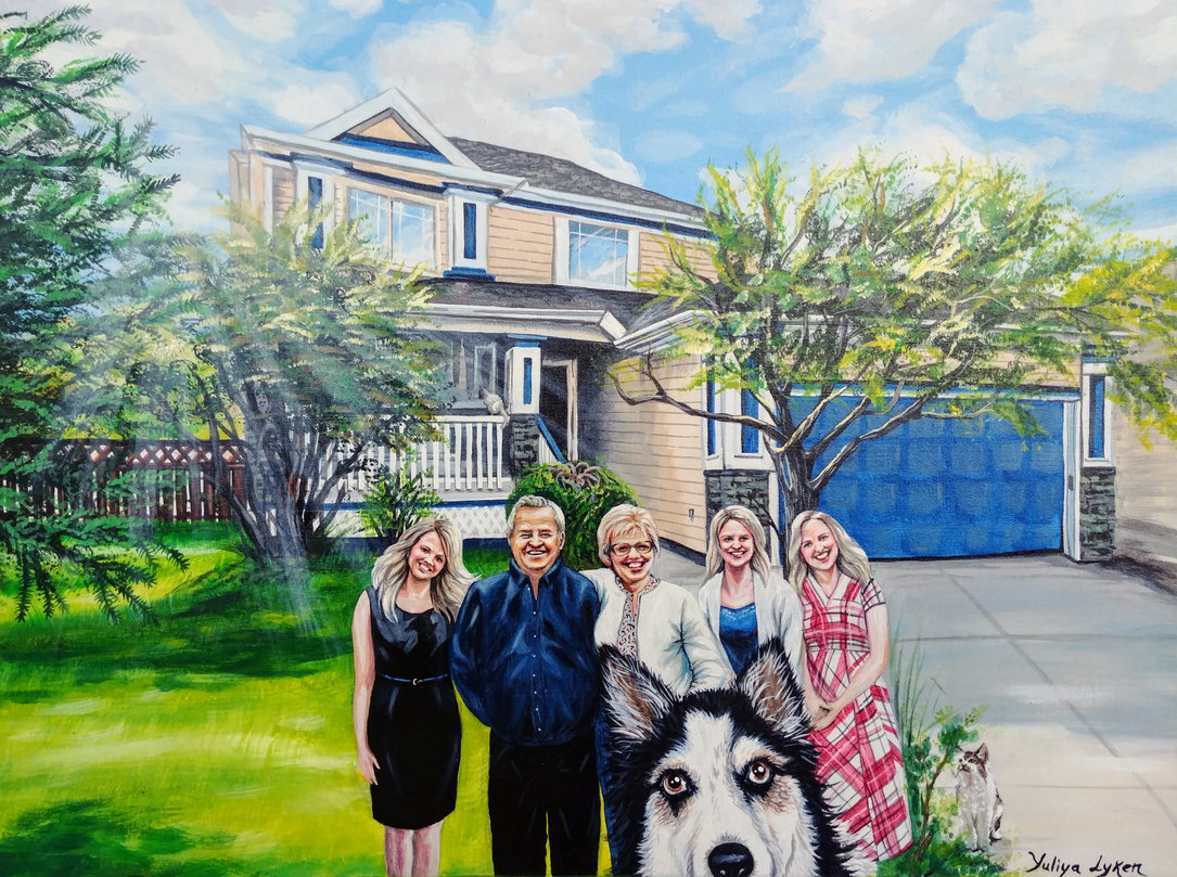 Family commission work