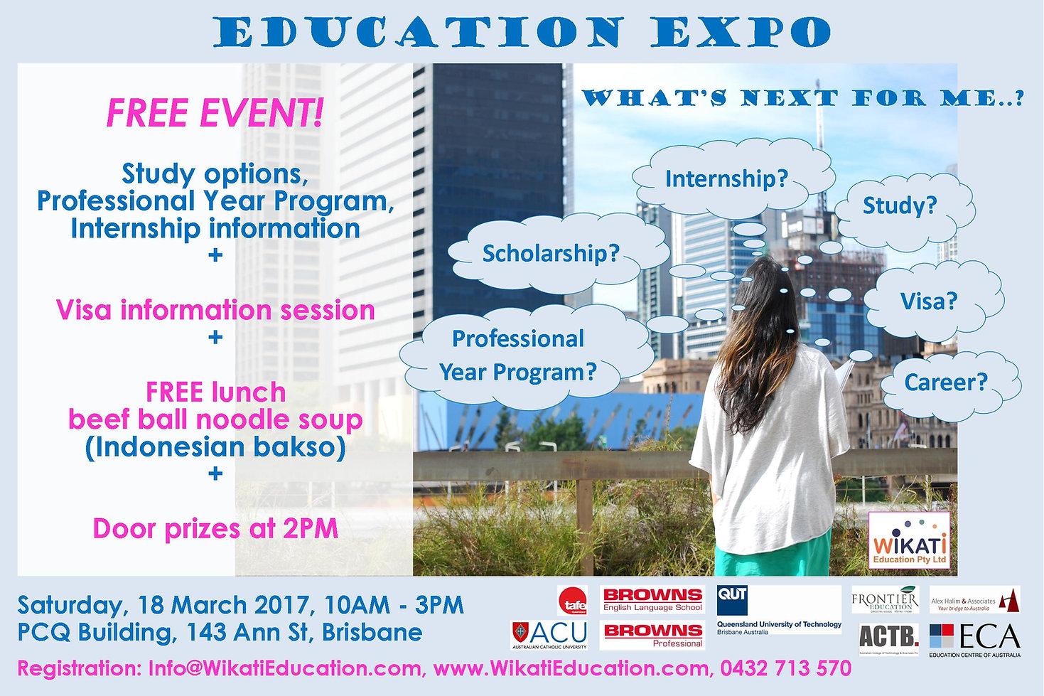 Wikati Education Expo & Seminars - 22 March 2016 - Brisbane Australia