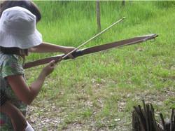 Apprentissage du tir à l'arc