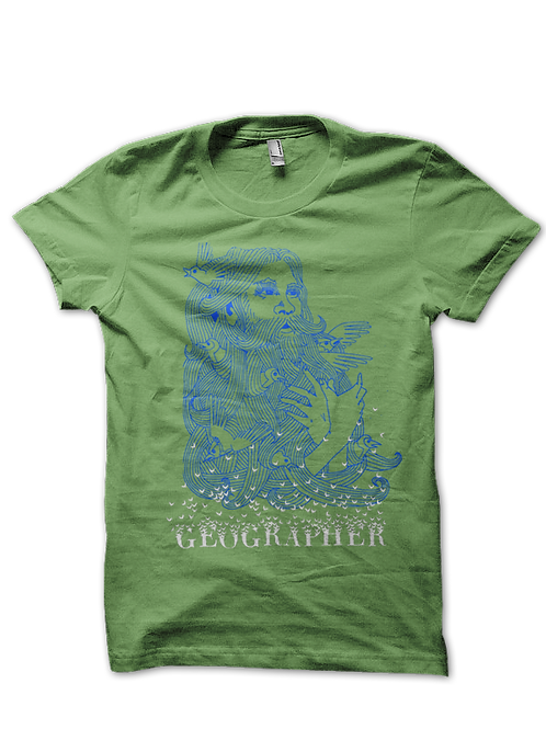 BIRDS T SHIRT - GREEN