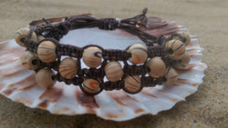 Multi-stranded shamballa bracelet