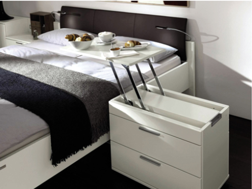 Bedside Cabinet & breakfast table