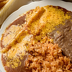 Cheese, Beef, or Chicken Enchilada