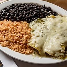 Two Chicken Enchiladas