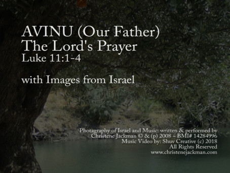 New Music Video Release: Avinu (Our Father)