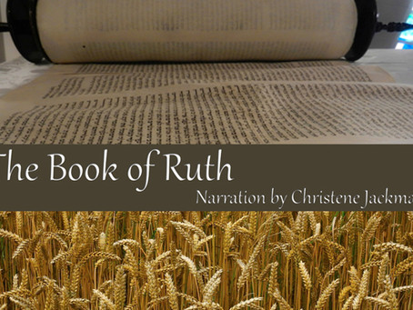 NEW! Book of Ruth narrated by Christene Jackman