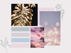 Creating mood boards for your wedding the sparkly rock is on your finger, and it's time to start.