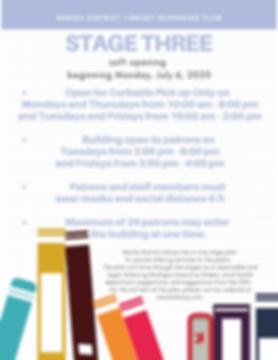 Henika district library reopening plan (