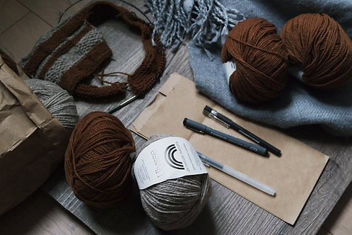 3 hours knitting workshop in downtown Toronto (Canada)
