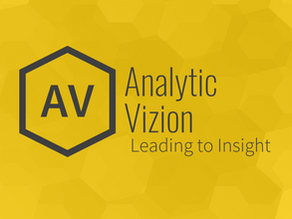 Humbled. Grateful. Awed. Tired. Stressed. Hopeful. Starting our second quarter at Analytic Vizion.