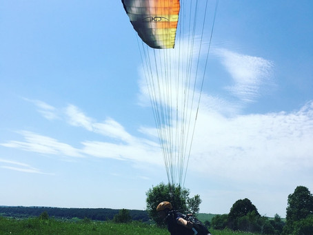ПЕРВОЕ БЕСПЛАТНОЕ ЗАНЯТИЕ - обучение полетам на параплане!