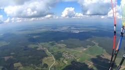 высотный полёт на параплане